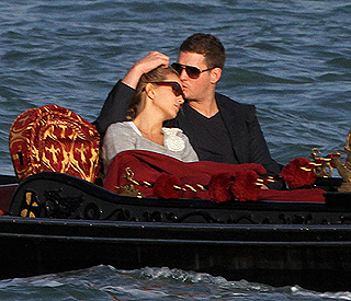 That's amore: Michael Buble honeymoons in Venice