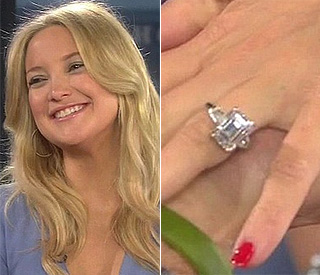 Expectant Kate Hudson: 'I'm engaged!'