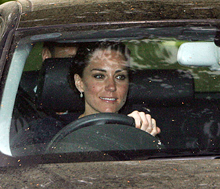Kate leaves home as a commoner for the last time