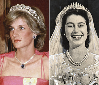 The Queen's Fringe tiara tipped to be Kate's headpiece