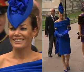 Electric: Tara Palmer-Tomkinson dazzles the crowds