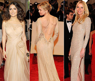 Salma and Gwyneth lead neutral beauties at Met Gala