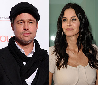 Courteney Cox and Brad Pitt reunite over dinner