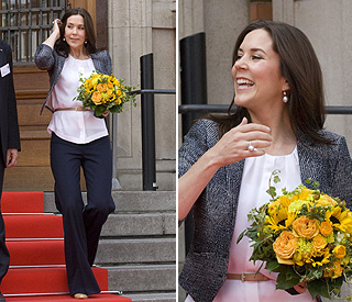 Princess Mary back from maternity leave