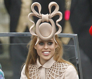 Princess Beatrice to auction off wedding hat