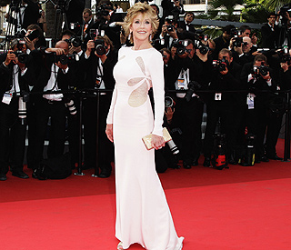 Knock out at 70: Jane Fonda steals Cannes spotlight