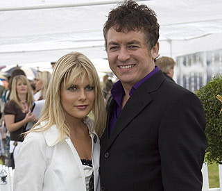 Shane Richie reveals name of new baby girl