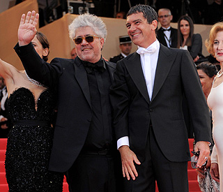 Antonio thrilled to back on red carpet with Almodovar