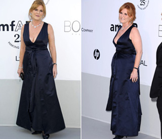 Sarah Ferguson joins the glamour of Cannes