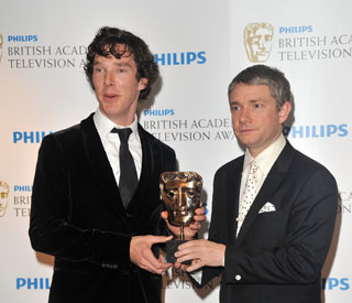 'Sherlock' triumphs on TV Bafta night