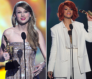 Rihanna and Taylor Swift are queens of the Billboard