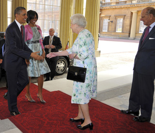 Pomp and circumstance on Obamas' state visit