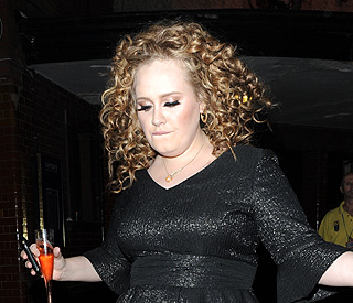 Adele frightened of singing in front of big audiences