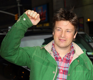 Jamie Oliver goes back to British food
