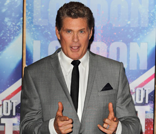 'Talent' judge The Hoff wants a winner with heart