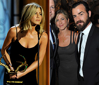 Jennifer Aniston pictured with rumoured love interest