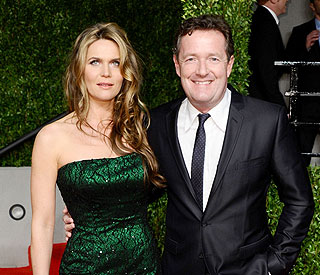 Piers Morgan expecting first child with Celia Walden
