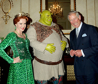 Amanda Holden's Princess Fiona meets real life royal