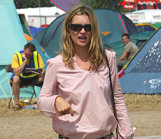 Three-day festival hen weekend for Kate Moss
