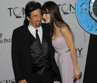Al Pacino shows off 31-year-old girlfriend Lucila
