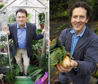 Gardeners war: Alan and Monty go head to head