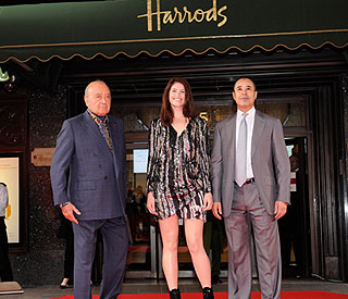 Gemma Arterton kicks off Harrods summer sale