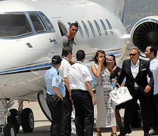 Cristiano Ronaldo jets to Turkey after son's baptism
