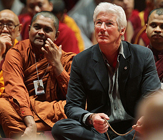 Buddhist activist Richard Gere on South Korean trip