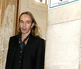 John Galliano faces 'public insult' charges in Paris court