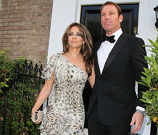 Shane and Elizabeth Hurley make society debut