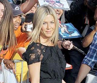 'Extremely happy' Jennifer Aniston loving her 40s