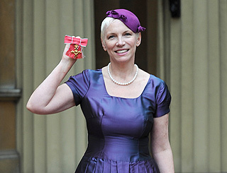 Annie Lennox awarded OBE in a 'magical' ceremony