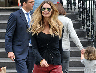Elle Macpherson reveals all about school-run glam