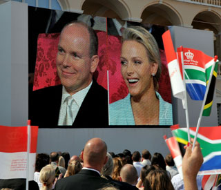 Prince Albert and Charlene marry in civil ceremony