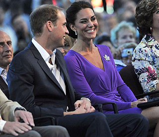 William and Kate charm crowds at Canada Day concert