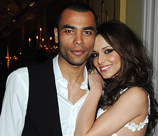 Cheryl Cole spotted kissing her ex Ashley at birthday