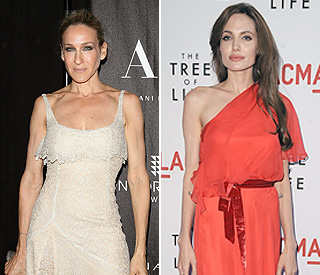 Angelina and Sarah Jessica Parker top Forbes' charts