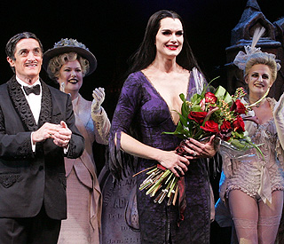 Brooke gives morbidly fantastic performance in 'Addams Family'
