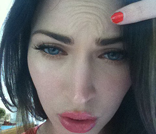 Megan Fox proves she's Botox-free