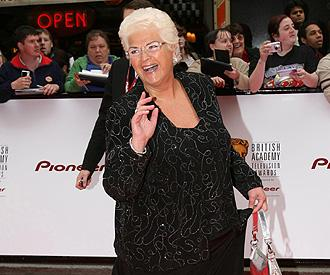 Pam St Clement aka Pat says farewell to 'EastEnders'