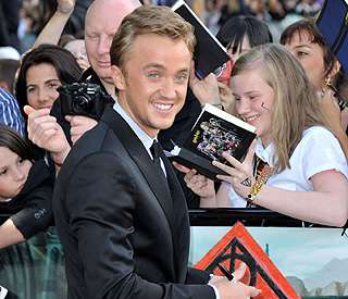 'Harry Potter's' Tom Felton to launch a rapping career