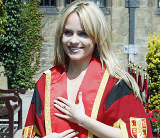 Duffy receives honorary degree from Bangor University