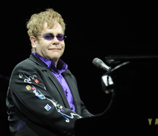 Sir Elton John's special message to NASA astronauts
