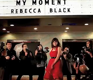 YouTube star Rebecca Black releases second video