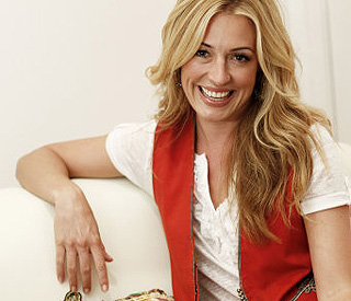 Cat Deeley addresses poverty - one hanger at a time