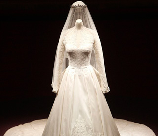 Just £17.50 to see Kate's wedding dress up close