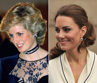 William gives Kate his mother's favourite earrings