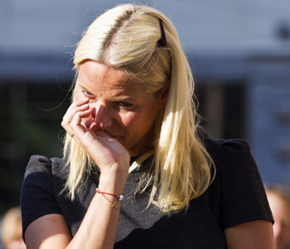 Mette-Marit personally touched by Norway tragedy