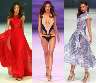 Miranda Kerr nervous about first swimsuit job after birth