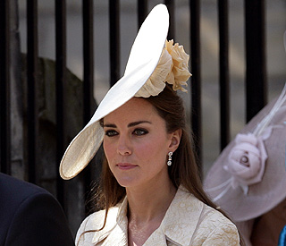 Kate splashed out on customised hat to update look